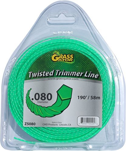 Grass Gator Z5080 Zip String Trimmer Line Pro Small Donut 190-Feet X .080 Packagequantity: 1 Outdoor/Garden/Yard Maintenance (Patio & Lawn Upkeep)