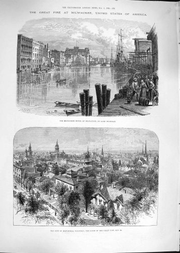 old-original-antique-victorian-print-1892-fire-milwaukee-america-wisconsin-lake-michigan-576p201