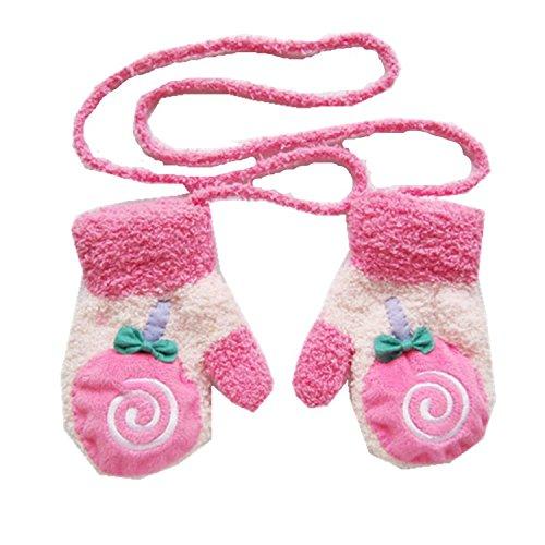 buyhere-unisex-baby-cartoon-coral-fleece-gloves-bonbon