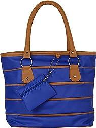 Gracetop Women's Handbag (Blue, Pph-Blue)