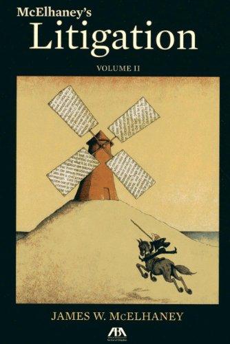 McElhaney's Litigation (Volume II)