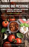 Canning and Preserving: A Simple Food...
