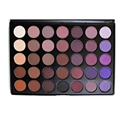 Morphe Pro 35 Color Eyeshadow Makeup Palette - Plum Palette 35P by Morphe Brushes
