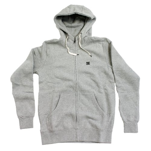 DC Men's Keystone 3 Fleece Hoodie - Heather Grey (XL)