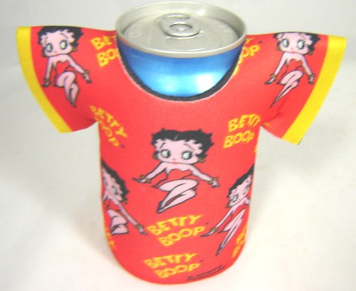Betty Boop Bottle and Can Beverage Wear - Classic Betty Style by Dress to Chill