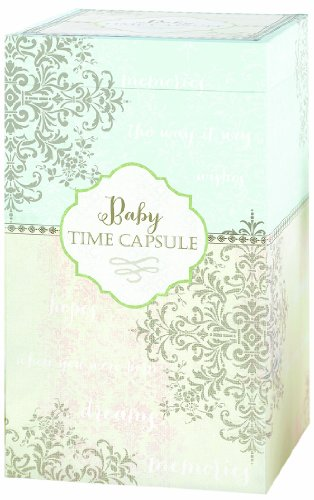 "Lillian Rose Keepsake Baby Time Capsule, 11"" x 6.5"""