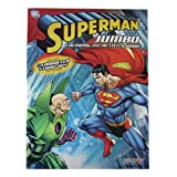 Superman Coloring Book - Superman Jumbo Coloring And Activity Book (1 Book)
