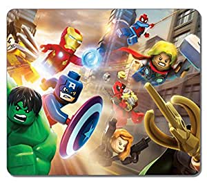 Amazon.com : VUTTOO Large Mouse pad - Lego Marvel Super Heroes 21751