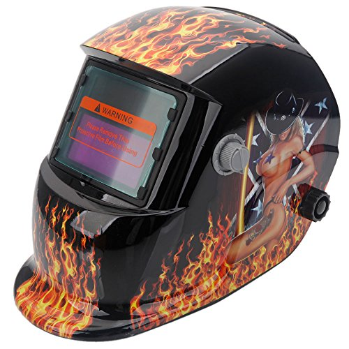Olymstore-Solar-Powered-Welder-Welding-Helmet-Auto-Darkening-with-Adjustable-Shade-Range-Belle-Pattern