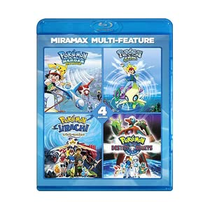 pokemon collection 4 movie bundle � region locked