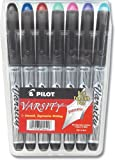 Pilot Varsity Disposable Fountain Pen Assorted Ink 7-Pack Pouch (90029)