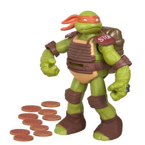 Teenage Mutant Ninja Turtles Flingers Disc Firing Michelangelo Figure - 1