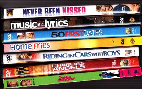 Never Been Kissed , Music and Lyrics , 50 First Dates , Home Fries , Riding in Cars with Boys , Charlie's Angels , the Wedding Singer : Drew Barrymore Collection by Drew Barrymore (Riding In Cars With Boys compare prices)