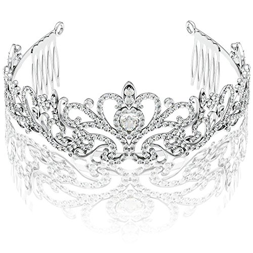 silver-princess-tiara-with-comb-ribbon-loop-for-first-communion-wedding-pageant-sweet-16-baby-shower