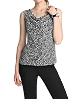 ESPRIT Top (Negro / Blanco)