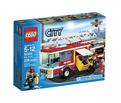 LEGO City Fire Truck 60002 from LEGO City