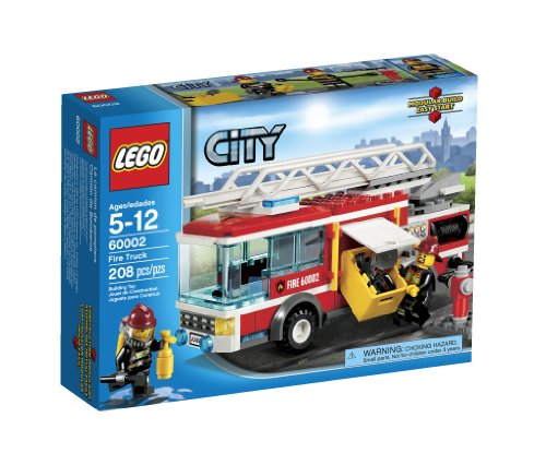 LEGO City Fire Truck 60002 Amazon.com