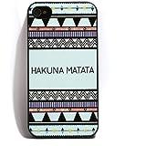Hakuna Matata Coque rigide en plastique pour iPhone 4/4S