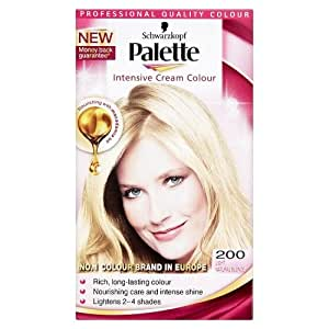 Schwarzkopf Palette Intensive Cream Permanent Hair Colour 200 Light Natural B