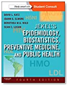 Jekel's Epidemiology, Biostatistics, Preventive Medicine, and Public Health: With STUDENT CONSULT Online Access, 4e (Jekel's Epidemiology, Biostatistics, Preventive Medicine, Public Health)