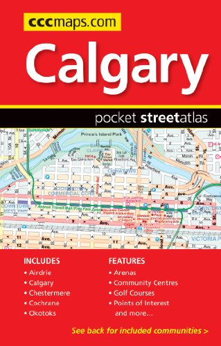 Calgary Pocket Map Guide