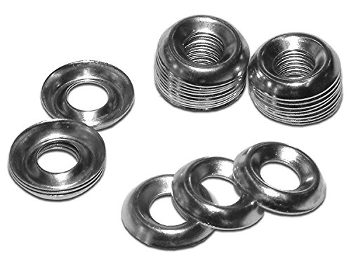 Screw Cup Washer No 8, Nickel Plated (Pack of 100)