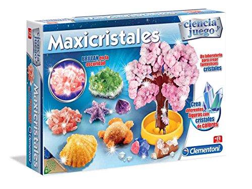 Ciencia y Juego - Maxicristales, juego educativo (Clementoni 550838)