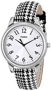 Timex Women's T2P2499J Analog Display Analog Quartz Black Watch