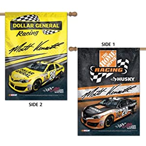 Matt Kenseth Official Two Sided Banner Flag by Wincraft 30703014 by WinCraft