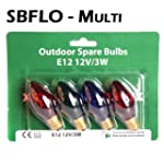 Spare Bulbs - Starlights Multi Coloured