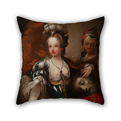 Elegancebeauty The Oil Painting Alexis Grimou (circle Of) - Judith With The Head Of Holofernes Pillowcase Of ,20 X 20 Inches / 50 By 50 Cm Decoration,gift For Club,kitchen,adults,divan,gril Friend,m (Gold Emblem Gummy Bears compare prices)
