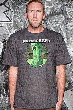 Jnx - Minecraft T-shirt Retro Creeper Size L by J!NX