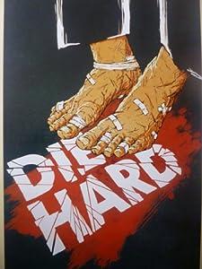 Die Hard - Mounted Alternative Movie Poster