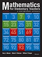 Mathematics for Elementary Teachers, 10th Edition Front Cover
