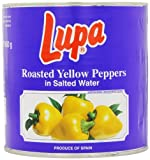Lupa Roasted Yellow Peppers 2.5 Kg