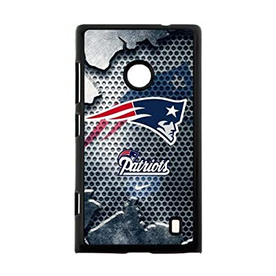 Hoomin Cool New England Patriots Nokia Lumia 520 Cell Phone Cases Cover Popular Gifts by Cases_or_Clothes