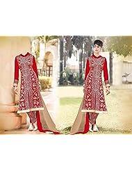 Mega Wholesale Bazaar Super Seller Georgette Semistitched Dress Material - B015726K8G