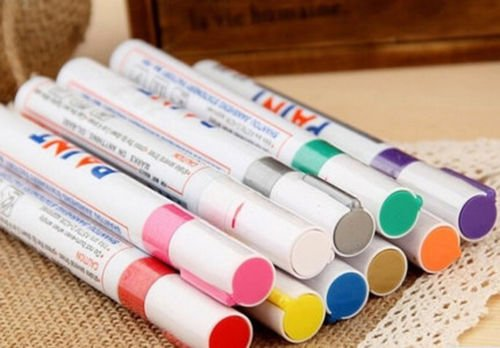 paint-pens-paint-marker-set-12-colors-fine-paint-oil-based-art-pen