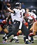Autographed Joe Flacco Photo - SB XLVII 16x20 Memories - Mounted Memories Certified - Autographed NFL Photos at Amazon.com