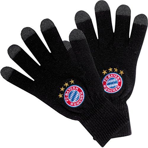 F.C. Bayern Munich Knitted Touch Screen Gloves Junior