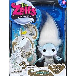 Amazon.com - The Zelfs Angelala Angel Zelf Ange [White] -
