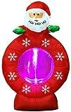 【クリスマスエアブロウ】サンタヘッド スノーウィング  / お楽しみグッズ(紙風船)付きセット [おもちゃ&ホビー]
