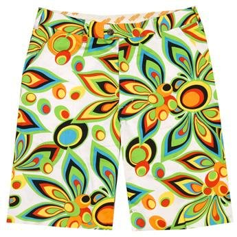 e8ec8da19a Loudmouth Golf Mens Shorts: Shagadelic White - Size 38