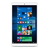 "Teclast X80 Plus - 32GB Tablet PC de 8.0"" (Windows 10 & Android 5.1, Quad Core, 1.44GHz, Resolución 1280 x 800, Batería de 3800mAh, OTG), Color blanco"