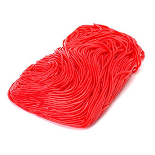 red-strawberry-licorice-laces-shoe-string-1lb-bag