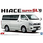 1/24 ザ・ベストカーGTシリーズNo.06 200系 ハイエース スーパーGL '10モデル