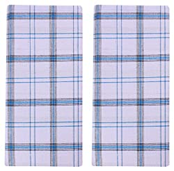 SRS Men's Cotton Lungis - Pack of 2 (White)