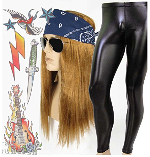 Men's (Glam Rocker Child Costumes)