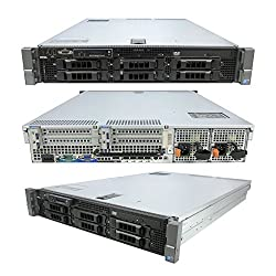 Lot of 3 High-End Virtualization Server 12 Core 2.93Ghz 144GB RAM 12TB RAID Dell R710 Bezel and Rails(Certified Refurbished)