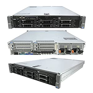 DELL PowerEdge R710 Server 2 x 2.67GHz 8 Core 72GB 6 x 2TB Windows 2012 R2 Evaluation (Certified Refurbished